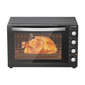 BlitzWolf® BW-EO1 Air Fryer Toaster Oven 2200W Dual Heating Function Hot Air Circulation Stainless Steel Interior 65L