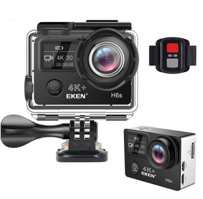 EKEN H6S 4k/30fps Bike Camera 2inch TFT Screen 14 Million Image A12 Chip 30M Waterproof Sport Camera Outdoor Cycling