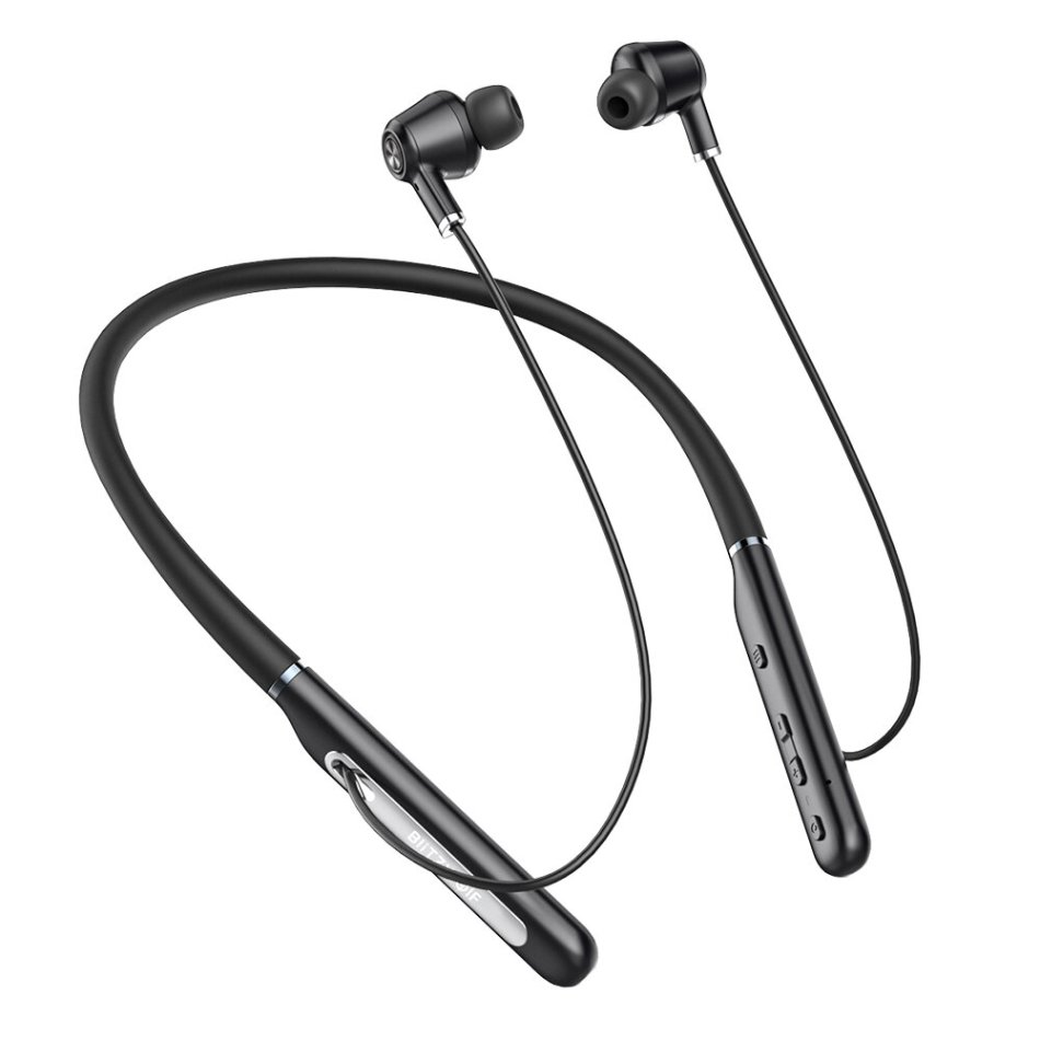 BlitzWolf® BW-ANC2 bluetooth 5.0 Earphone Active Noise Reduction Neck Hanging Headset Waterproof Sport Headphone with Mic