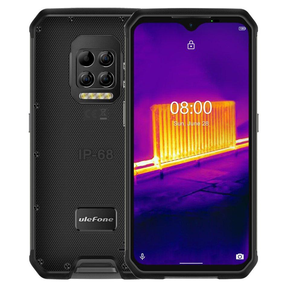 Ulefone Armor 9 IP68 IP69K Waterproof 6.3 inch 8GB 128GB 64MP Camera NFC 6600mAh Helio P90 Octa Core 4G Smartphone