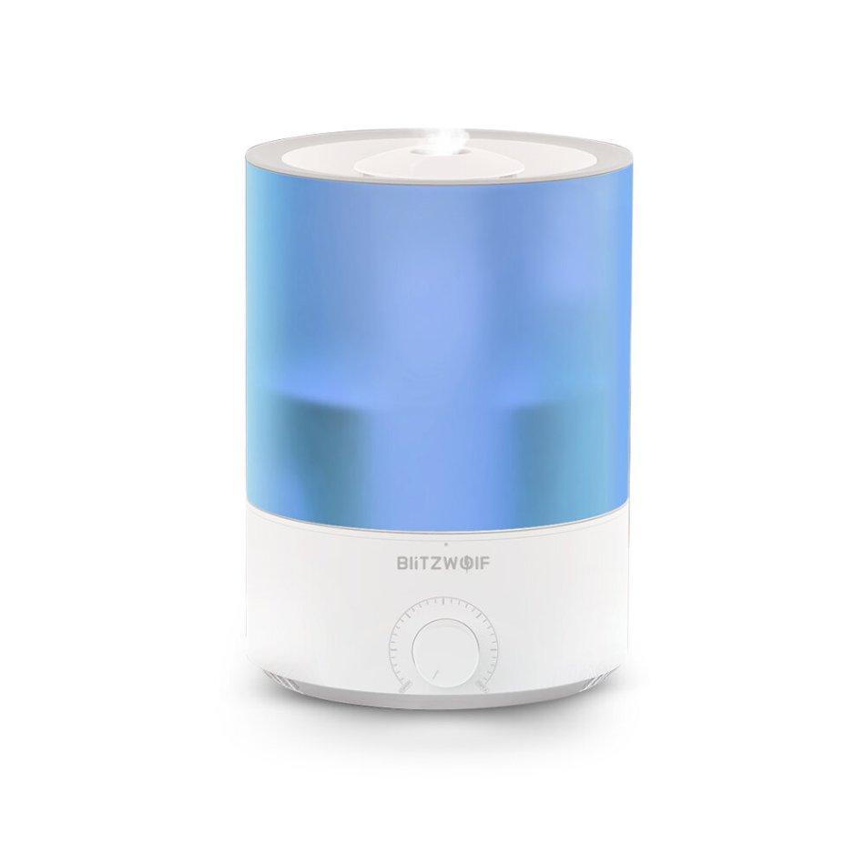 BlitzWolf®BW-SH2 4L Smart Air Humidifier Essential Oil Diffuser 100-240V 24W APP Control 7 Colorful Lights