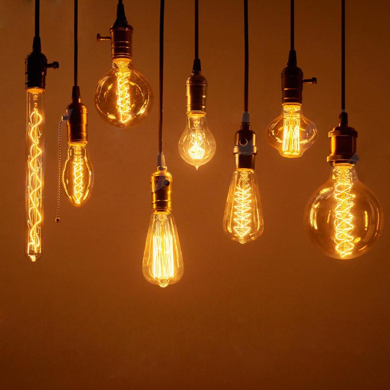 vintage edison bulbs e27