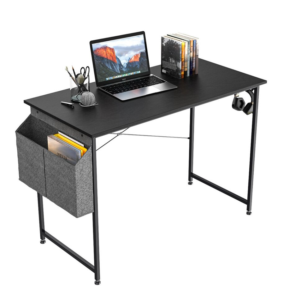 BlitzWolf® BW-CD2 Office Desk Modern and Simple Style with Storage Bag Iron Hook for Home Office