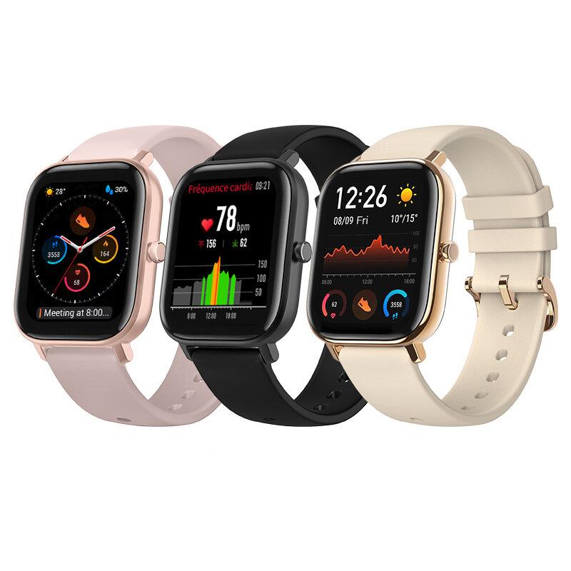 [bluetooth 5.0]Amazfit GTS 341 PPI AMOLED Screen BT5.0 Wristband GPS+GLONASS Light Weight 5ATM Waterproof Smart Watch