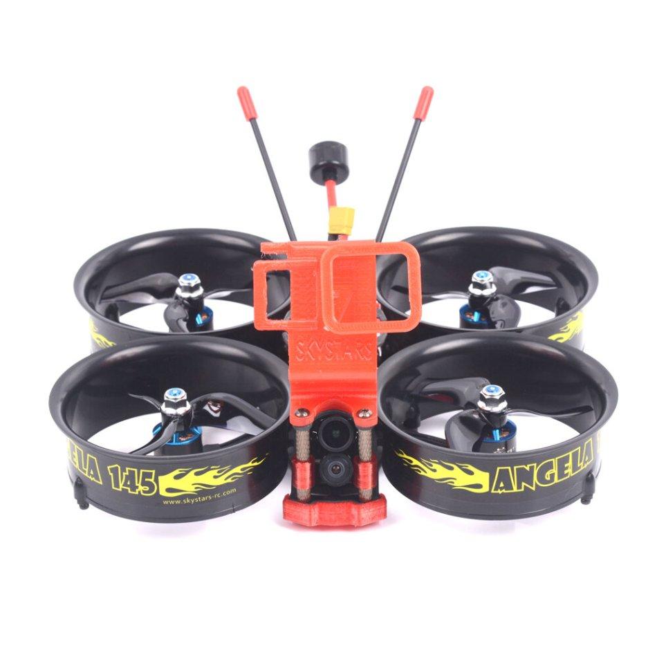 Skystars Angela145 4K 145mm F4 OSD 3-4S 3 Inch Whoop FPV Racing Drone PNP BNF w/ Runcam Hybrid 4K Camera