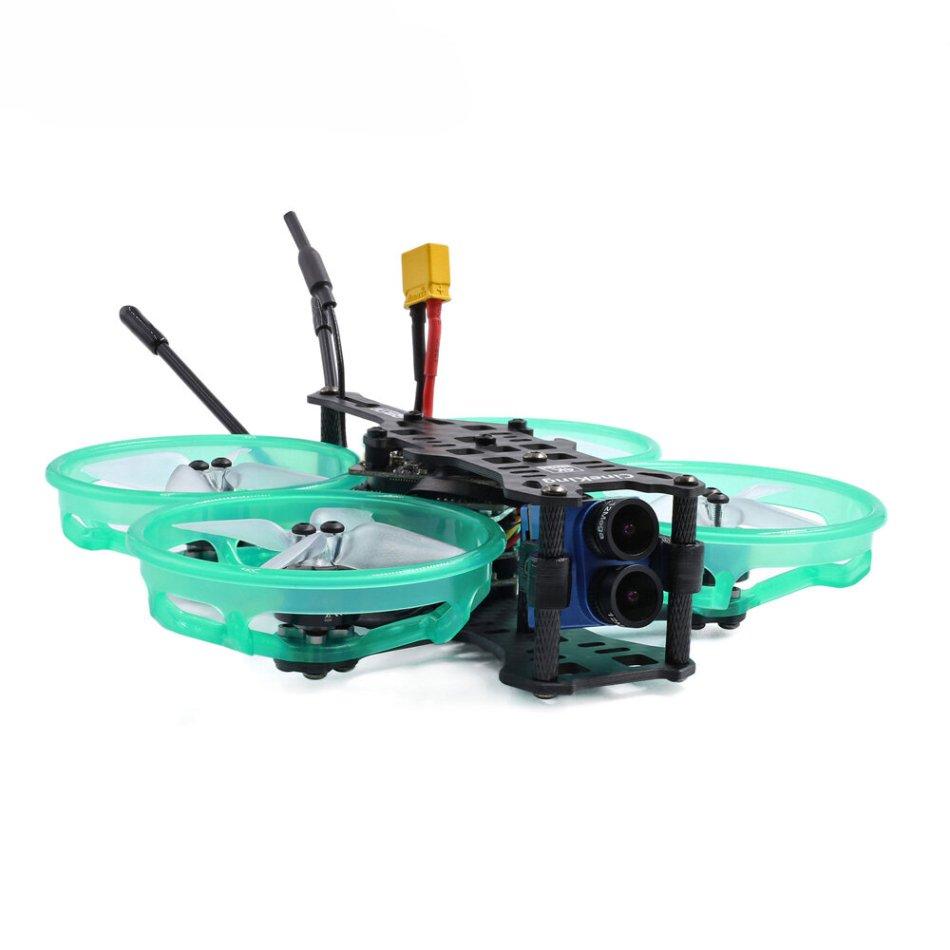GEPRC CineKing 4K 95mm 3-4S 2 Inch FPV Racing Drone BNF/PNP 1105 5000KV Motor F4 FC OSD 12A BLheli-S ESC Caddx Tarsier HD Cam