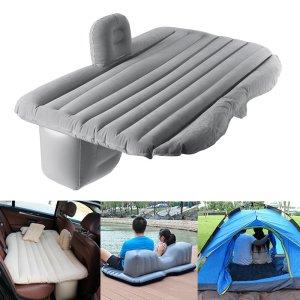Μην το προσπεράσεις αν…. Είσαι ψαράς…? κάνεις καμπινκ? γενικός την βγάζεις στο αμάξι το βράδυ όταν σε διώξει η γυναίκα.. Κοιμήσου σαν άνθρωπος!!   136x84x44cm Inflatable Air Mattresses Camping Travel Car Back Seat Rear Seat Rest Cushion Sleeping Pad With Pump