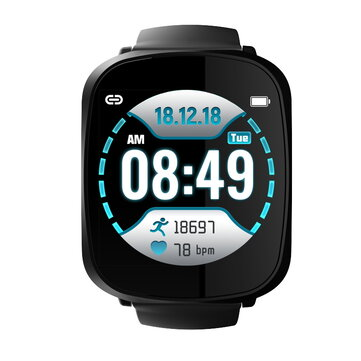 Bakeey A8 Big Screen Full Color Smart Watch
