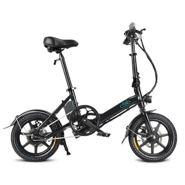 [EU Direct] FIIDO D3 7.8Ah 36V 250W 14 Inches Folding Moped Bicycle 25km/h Max 50KM Mileage Mini Electric Bike
