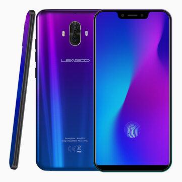 LEAGOO S10 6.21 Inch FHD+ 4050mAh Quick Charge 6GB RAM 128GB ROM Helio P60 Octa Core 4G Smartphone