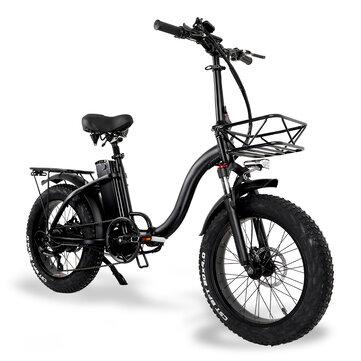 [EU Direct] TOODI Y20 48V 15AH 750W Electric Bike 45km/h Top Speed 150kg Max Load Disc Brake E-Bike