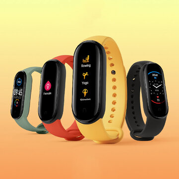 [Support English]Original Xiaomi Mi band 5 1.1 Inch AMOLED Wristband Customized Watch Face 11 Sport Modes Tracker BT5.0 Smart Watch