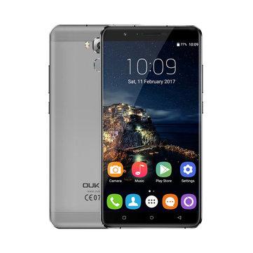Oukitel U16 Max 6.0 Inch 4000mAh Press Fingerprint 3GB RAM 32GB ROM MTK6753 4G Smartphone