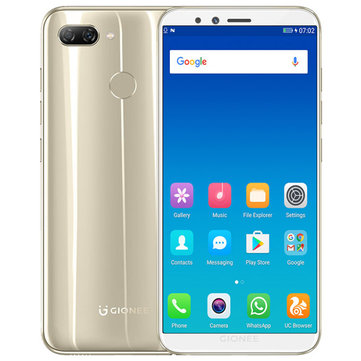 £101.5619%GIONEE S11 Lite Global Version 5.7 Inch HD 3030mAh 4GB RAM 32GB ROM Snapdragon 430 Octa Core 1.4GHz 4G SmartphoneSmartphonesfromMobile Phones & Accessorieson banggood.com