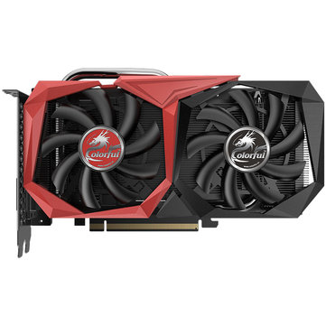 US$269.99Colorful® GeForce GTX 1660 6GB GDDR5 192Bit 1785MHz 8Gbps Gaming Graphics CardComputer ComponentsfromComputer & Networkingon banggood.com
