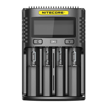 NITECORE UM4 LCD Screen Display Lithium Battery Charger