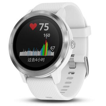 Garmin Vivoactive3 1.2Inch Touch Screen GPS+GLONASS Muti-sport Modes NFC Heart Rate Smart Watch