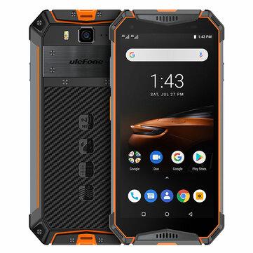 Ulefone Armor 3W 5.7 Inch NFC IP68 IP69K Waterproof 6GB 64GB 10300mAh Helio P70 Octa core 4G SmartphoneSmartphonesfromMobile Phones & Accessorieson banggood.com