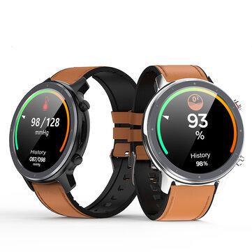 Microwear L11 ECG Heart Rate Blood Oxygen Monitor Wristband 10 Sport Modes Tracker Ultra Thin Smart Watch