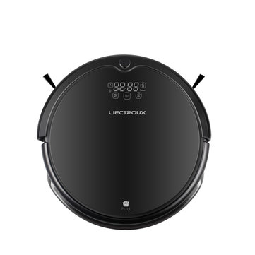 LIECTROUX Q7000 Robotic Vacuum Cleaner, Gyroscope Navigation, Smart Chip,Virtual Blocker,UV Lamp, Wet Dry Mopping