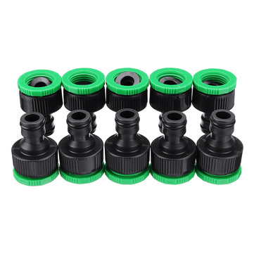 10pcs 1 2 3 4 inch faucet adapter female washing machine water tap hose quick connector garden irrigation fitting