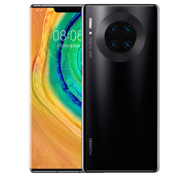 HUAWEI Mate 30 Pro 6.53 inch 40MP Quad Rear Camera 8GB 128GB NFC 4500mAh Wireless Charge Kirin 990 Octa Core 4G Smartphone Smartphones from Mobile Phones & Accessories on banggood.com