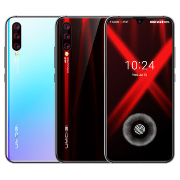 UMIDIGI X Global Bands 6.35 inch AMOLED 48MP Triple Rear Camera 4150mAh NFC 4GB 128GB Helio P60 Octa Core 4G Smartphone Smartphones from Mobile Phones & Accessories on banggood.com