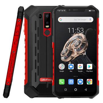 Ulefone Armor 6S NFC IP68 IP69K Waterproof 6.2 inch 6GB 128GB 5000mAh Wireless Charge Helio P70 Octa core 4G SmartphoneSmartphonesfromMobile Phones & Accessorieson banggood.com