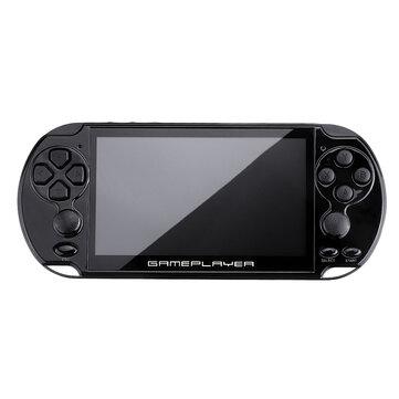Ευρωπαϊκή αποθήκη με δωρεάν μεταφορικά | X9 Plus 5.1inch HD LCD Screen 16GB 128Bit 10000 Games Handheld Video Game Console Double Rocker MP5 for GBA NES