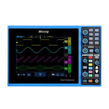 Micsig STO1104C Digital Smart Oscilloscope 100MHz 4CH Handheld Oscilloscope Automotive Scopemeter Oscilloscope