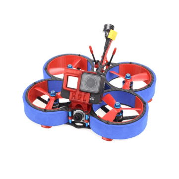 HGLRC Veyron 3 HD 3Inch 6S Cinewhoop FPV Racing Drone with Caddx Vista ZEUS35 AIO 600mW VTX 1408 Motor