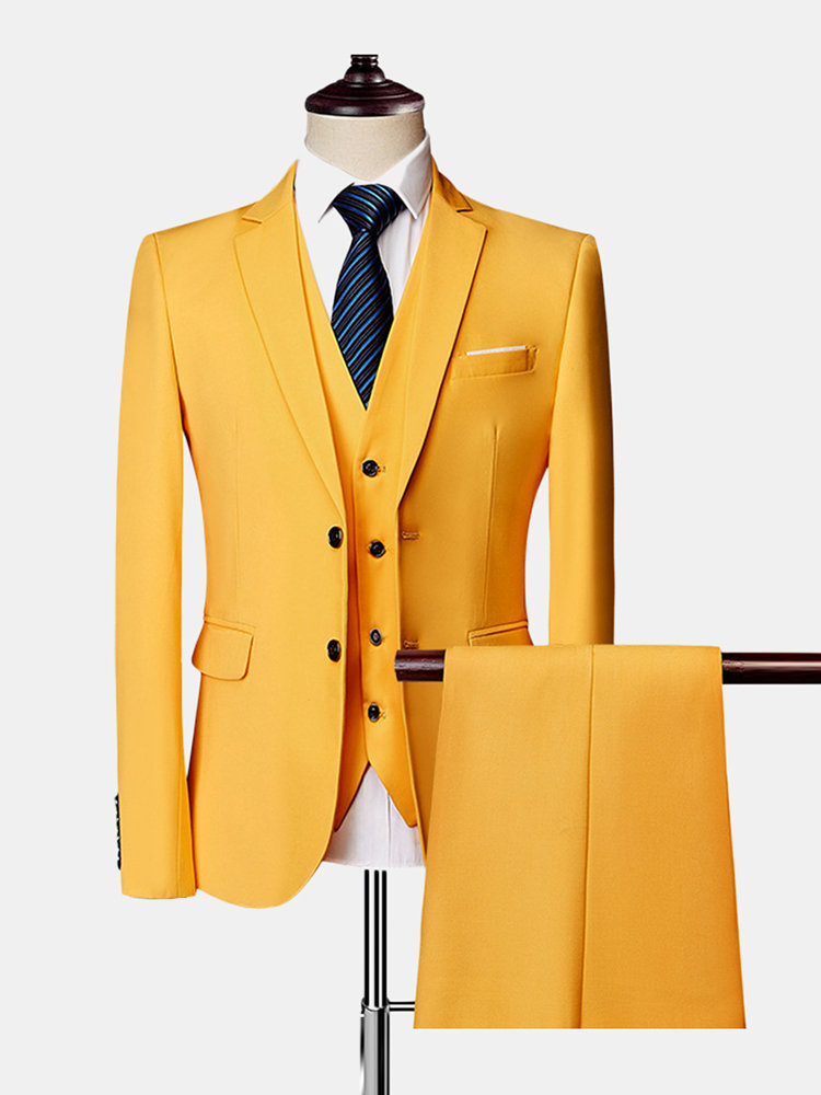 Best Three Pieces Wedding Suit Business Formal Show Evening Party Dressing Suit for Men You Can Buy