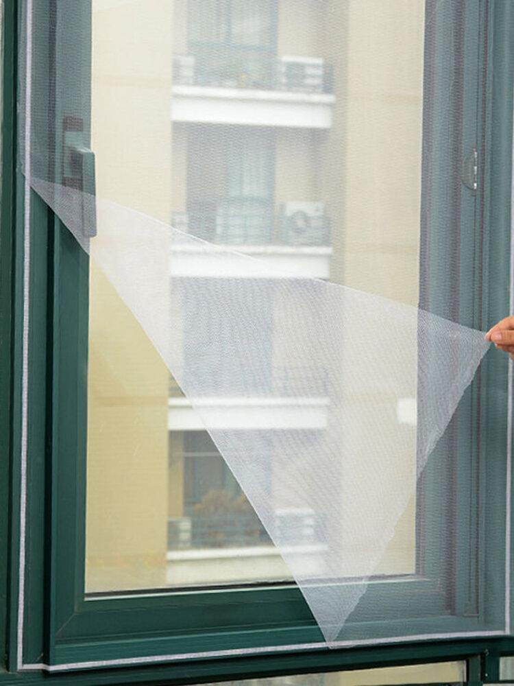 2pcs set diy door window gauze mesh netting insect fly bug screen curtain mosquitoes net protector