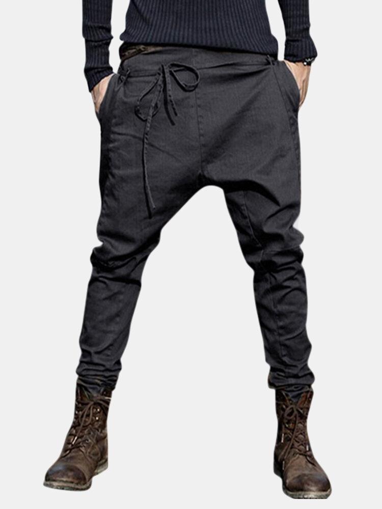 Best Mens Fashion Harem Pants Baggy Slacks Trousers Sportwear Casual Jogger Pants You Can Buy