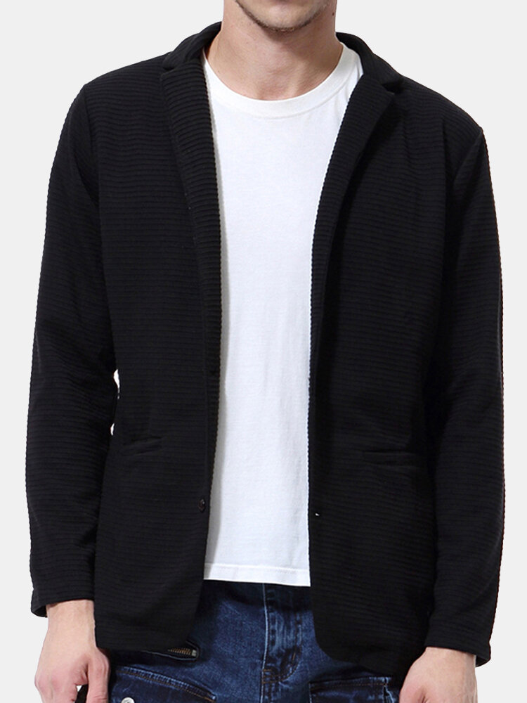 Best Mens Fall Lapel Collar Casual Simple Solid Color Cardigans You Can Buy