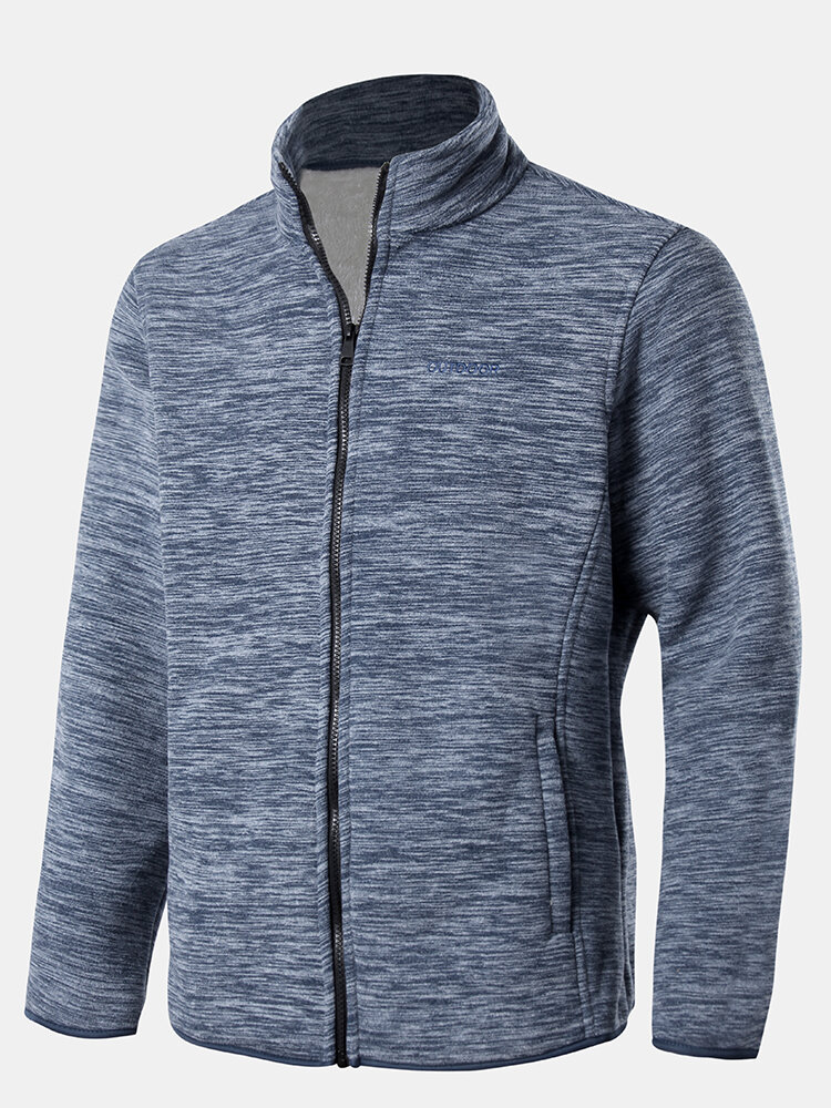 Best Mens Winter Fleece Lined Warm Outdoor Sport Long Sleeve Stand Collar Jackets You Can Buy