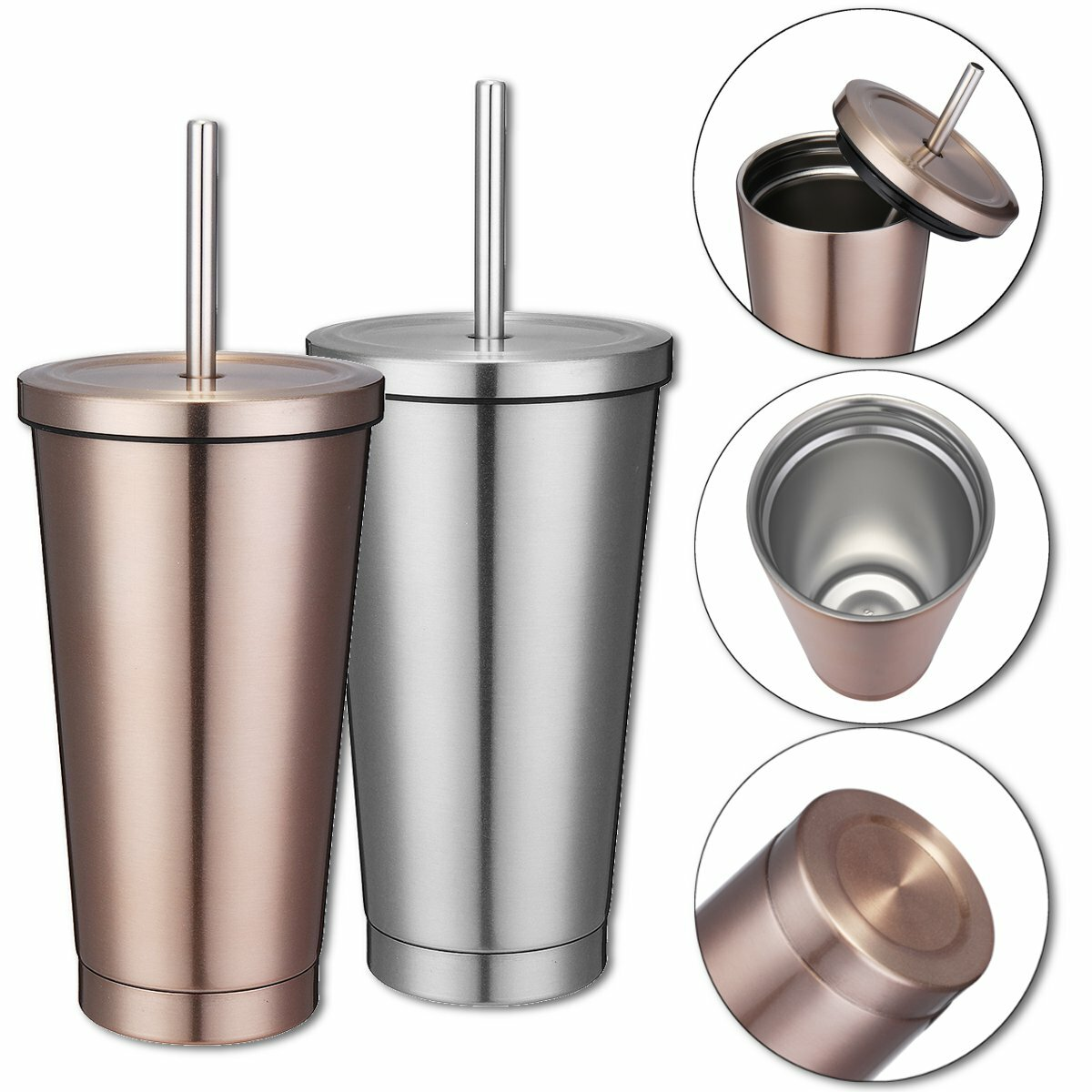 500ml stainless steel mug