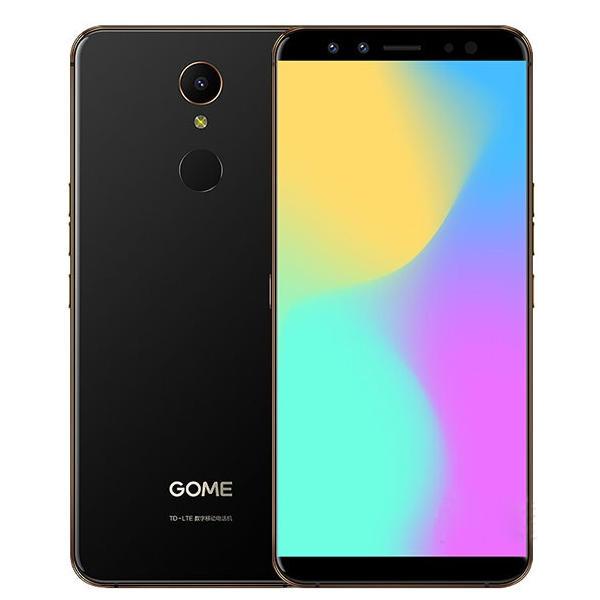 GOME U7 Mini 5.47 Inch HD+ 16MP+13MP Cameras 4GB RAM 64GB ROM Helio X20 Deca Core 4G Smartphone – Black