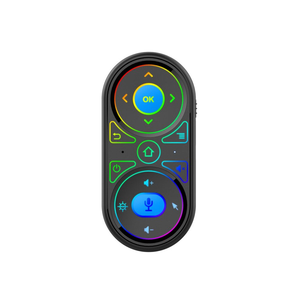 G11 Air Mouse 6 Gyro Google Voice Control RGB Backlit Smart Remote Control 2.4G Wilress Rechargeable Mini Remote