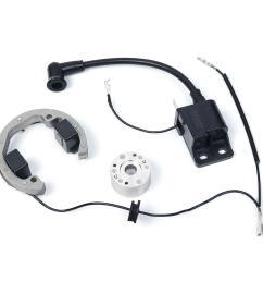 ignition coil stator flywheel for ktm 50 sx 50cc pro senior junior sr jr ktm50 cod [ 1200 x 1200 Pixel ]