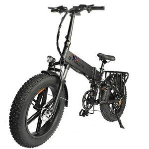 Στα €1,090.21 από αποθήκη Τσεχίας | EU DIRECT ENGWE ENGINE PRO 750W 12.8Ah 48V 20+4in Folding Fat Tire Electric Bike Bicycle 45km or h Top Speed City Mountain E BIKE