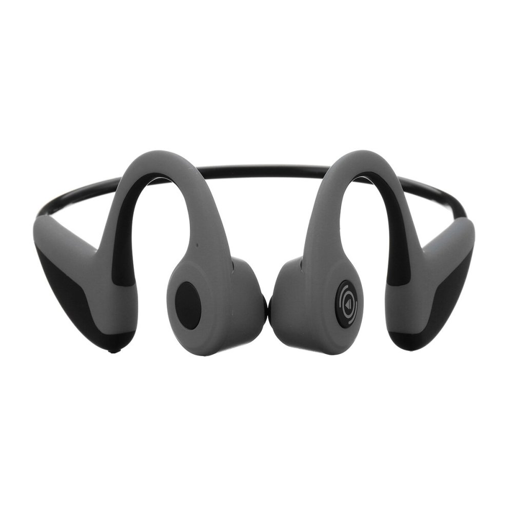 medium resolution of fmj wireless smart bone conduction bluetooth 5 0 headset waterproof sports handsfree earphone headphone black cod