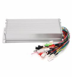 dc 48v 1500w brushless motor controller for e bike scooter electric bicycle cod [ 1200 x 1200 Pixel ]