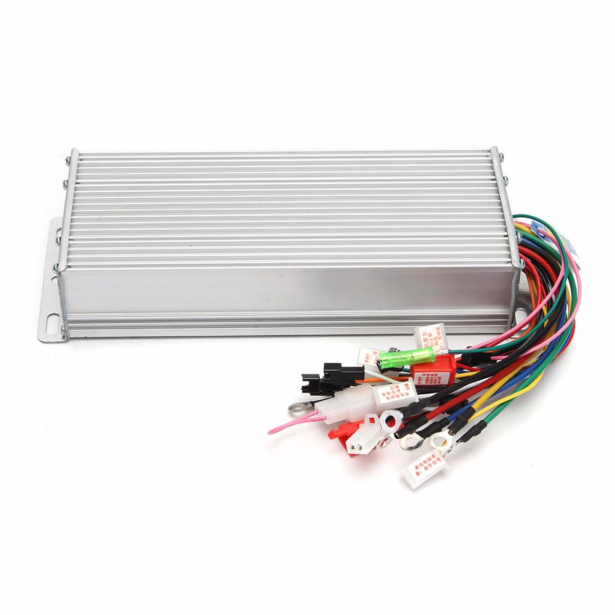 hight resolution of dc 48v 1500w brushless motor controller for e bike scooter electric bicycle cod