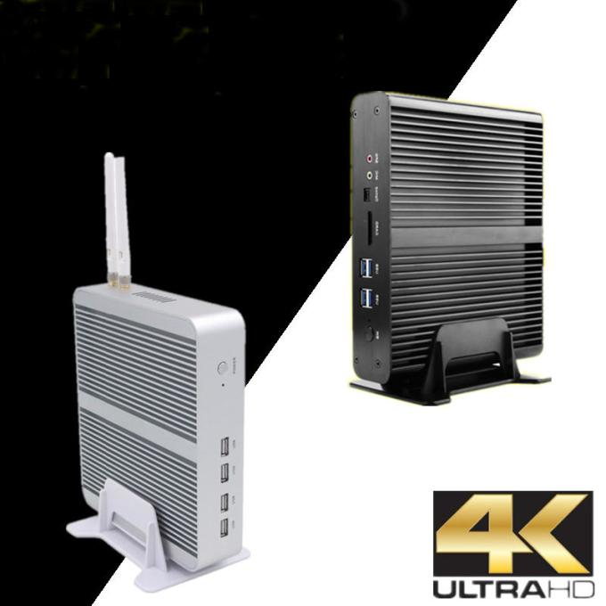 Eglobal Mini Pc Computer Barebone Wi Dual Plus Graphics 640 2* Msata+M.2 Micro PC Fanless HTPC Nuc VGA HDMI
