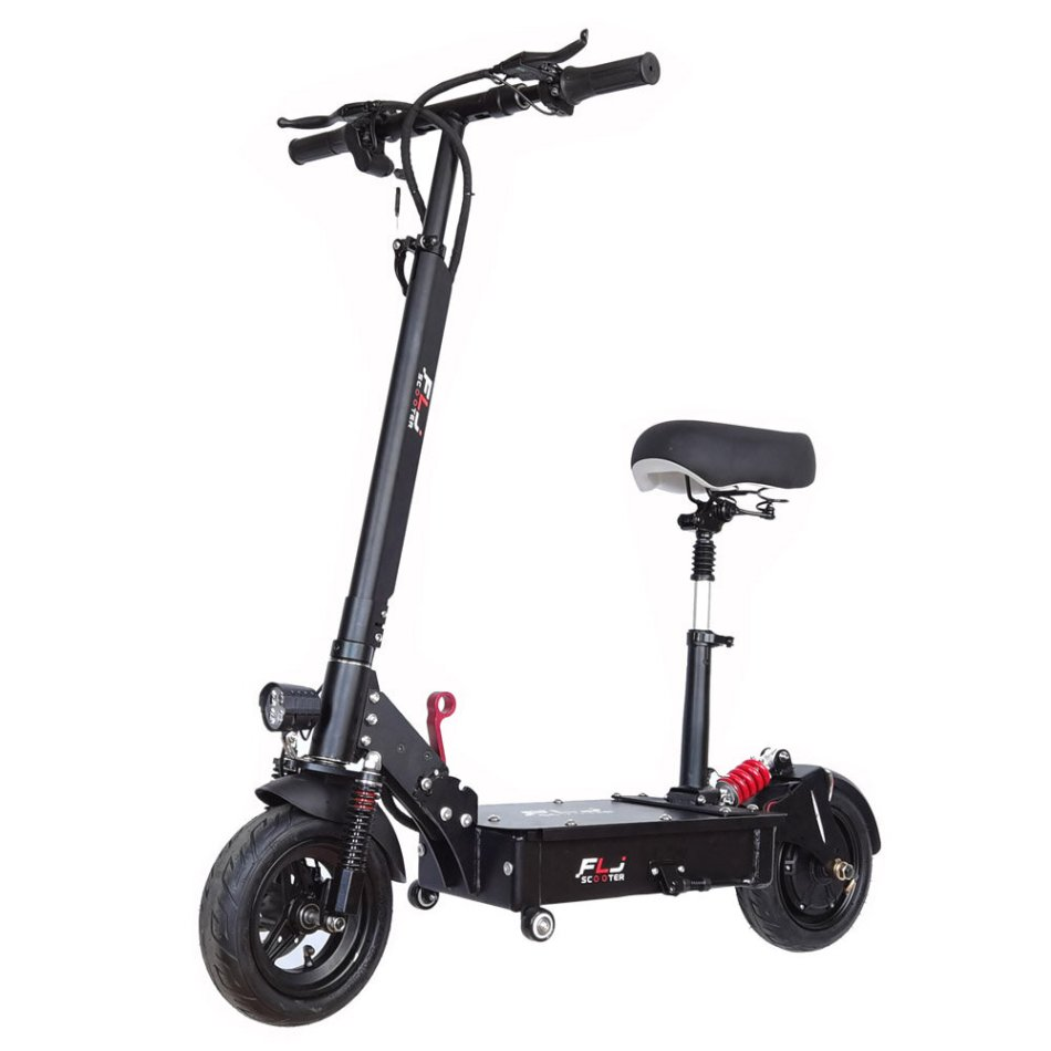 [EU Direct] FLJ K1 25Ah 48V 1200W 10 Inches Tires 45km/h Top Speed 60-80KM Mileage Range Electric Scooter Vehicle