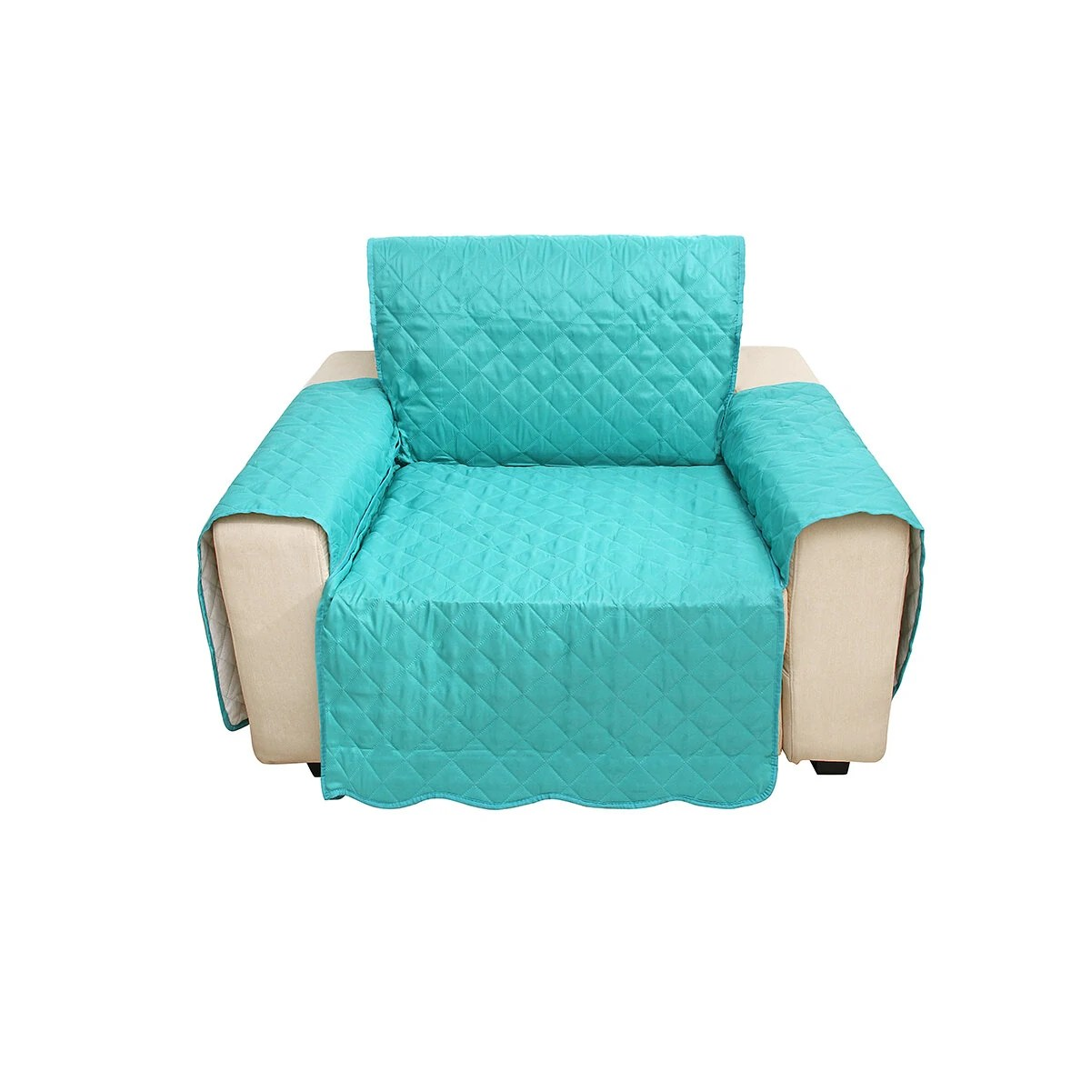 Single Seat Sofa Cover Living Room Home Decoration Polyester Fashion Dust Proof Chair Covers