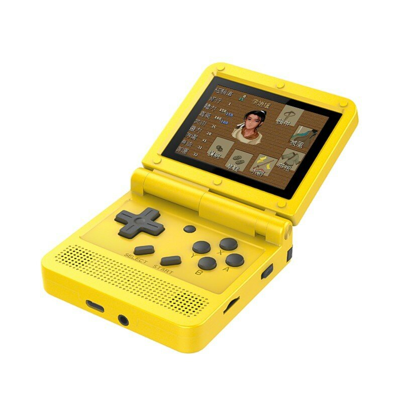 ANBERNIC S-100 16GB 2500+ Games 3.0 inch IPS HD Screen Handheld Game Console Support PS1 CPS NEOGEO SFC MD TV Output