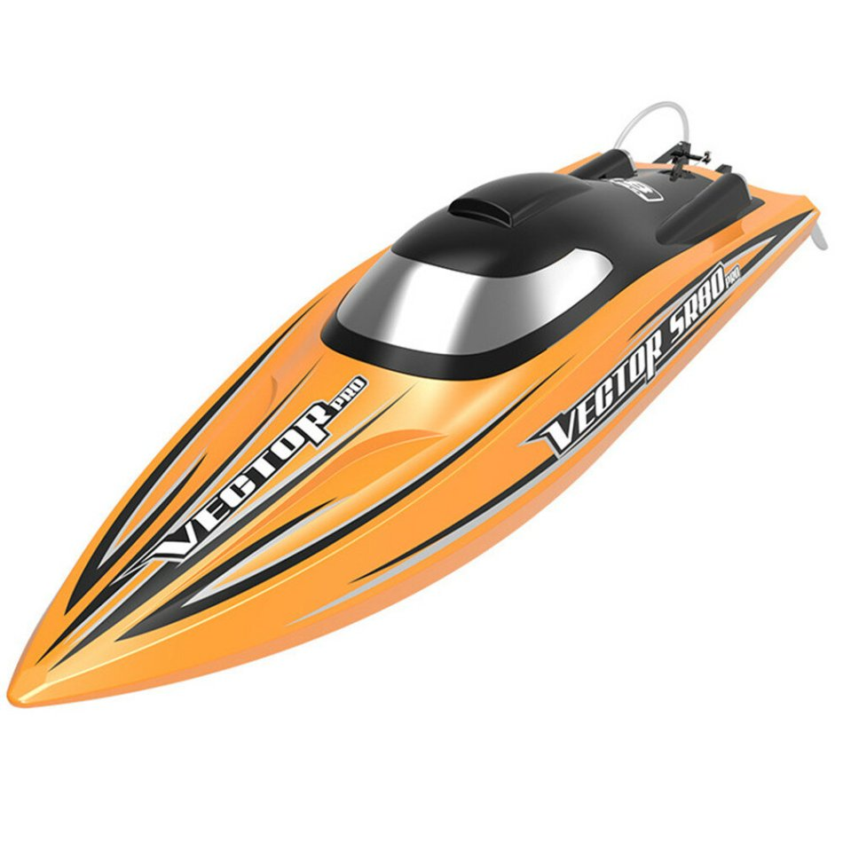 Volantexrc Vector SR80 Pro 70km/h 800mm 798-4P ARTR RC Boat with All Metal Hardwares Auto Roll Back Function