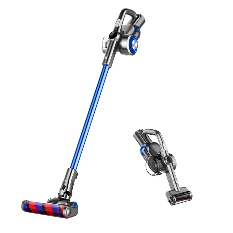 JIMMY H8 Cordless Stick Handheld Vacuum Cleaner 4 Mode Adjustment 25000Pa Powerful Suction 160AW Brushless Motor Lightweight for Home Hard Floor Carpet Car Pet LED Display Low Noise
